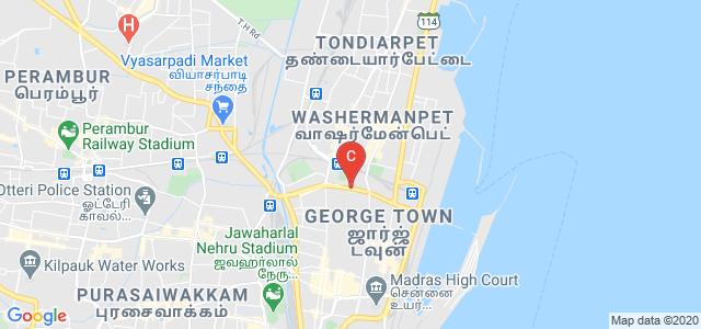 Stanley Medical College, Old Jail Road, Old Washermanpet, Chennai, Tamil Nadu, India