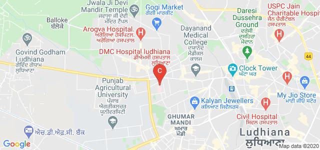 Dayanand Medical College & Hospital, Ludhiana, Civil Lines, Tagore Nagar, Ludhiana, Punjab, India
