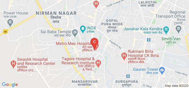 Jaipur Hospital College of Nursing, adjoining Technology Park, Shanthi Nagar, Mansarovar, Jaipur, Rajasthan, India