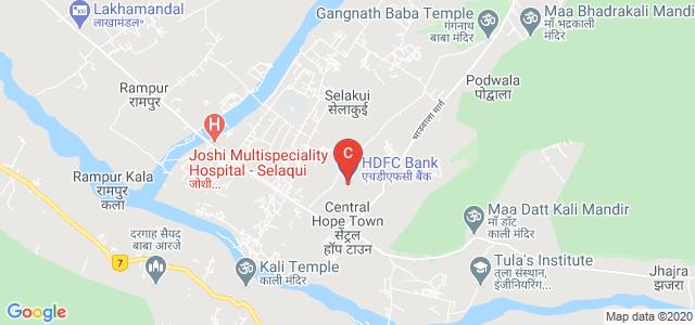 Tula's Institute, The Engineering and Management College, Dehradun, Chakarata Road, Selakui, Uttarakhand, India