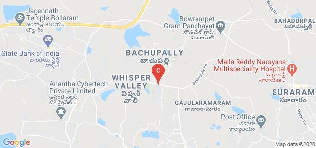 Vallurupalli Nageswara Rao Vignana Jyothi Institute of Engineering &Technology, Nizampet Rd, Pragathi Nagar, Hyderabad, Telangana, India