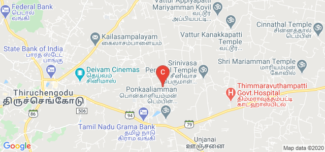 Vivekanandha College of Technology for Women, Namakkal, Tamil Nadu, India