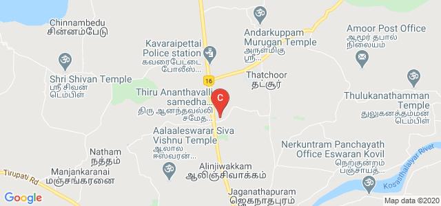 Velammal Institute of Technology, Chennai, Thiruvallur, Tamil Nadu, India