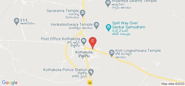 Kothakota Sri Vidya Degree College, Kothakota, Kothakota, Mahabubnagar, Telangana, India