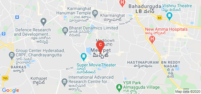 Teegala Ram Reddy College Of Pharmacy, Raghavendra Nagar, Pragathi Colony, Meerpet, Hyderabad, Telangana, India