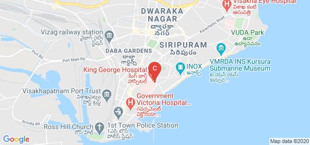 Andhra Medical College, Jagadamba Junction, Visakhapatnam Port, Andhra Pradesh, India