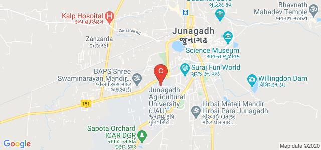 Junagadh Agricultural University, Vanthali Road, Moti Baug, Junagadh University, Junagadh, Gujarat, India