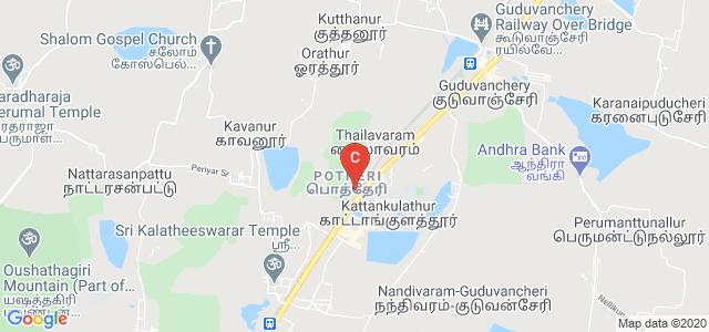 SRM College of Pharmacy, Potheri, SRM Nagar, Kattankulathur, Tamil Nadu, India