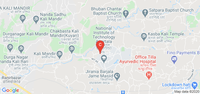 National Institute of Technology, Agartala, Barjala, Agartala, Tripura, India