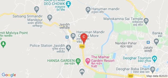 Dr. Jagannath Mishra College, Kunjisar Road, Jasidih, Jharkhand, India