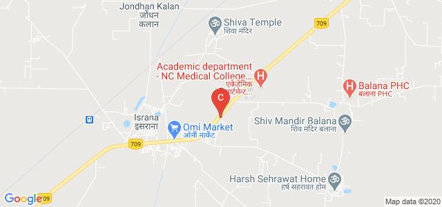 NC College Of Engineering, Gohana - Panipat Road, Israna, Haryana, India