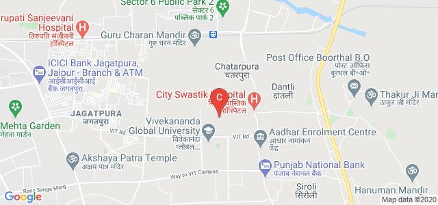 Vivekananda Institute of Technology Jaipur, NRI Colony Rd, V I T Campus, Jagatpura, Jaipur, Rajasthan, India