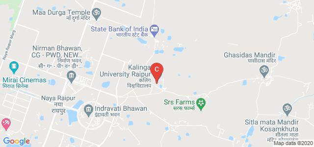 Kalinga University Raipur, Kotni, Naya Raipur, Chhattisgarh, India
