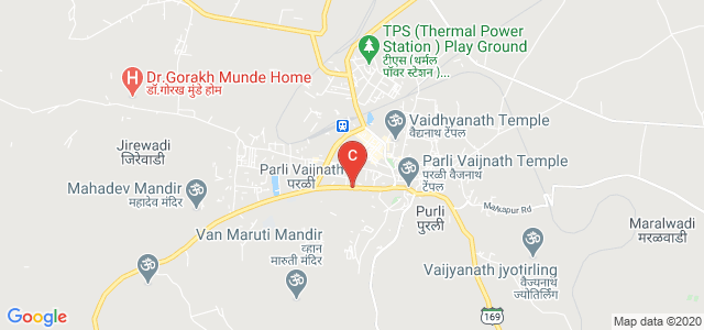 Maharashtra State Highway 169, Siddheshwar Nagar, Habib Pura, Parli, Maharashtra, India