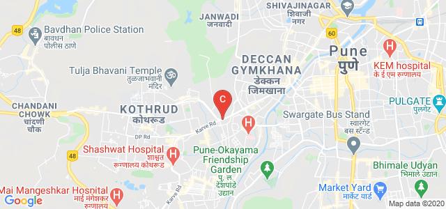Poona College of Pharmacy, Paud Road, Rambaug Colony, Erandwane, Pune, Maharashtra, India