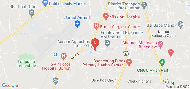 Assam Agricultural University, Barbheta, Jorhat, Assam, India