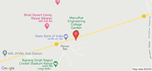 Manda Institute of Technology Society, Jaipur Road, Bikaner, Rajasthan, India