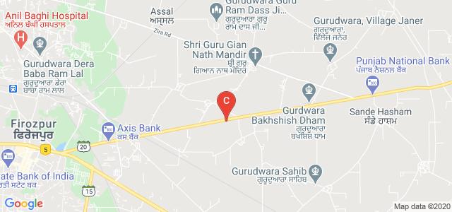 Dev Raj Group's Technical Campus, Zira Road, Kotwala, Punjab, India