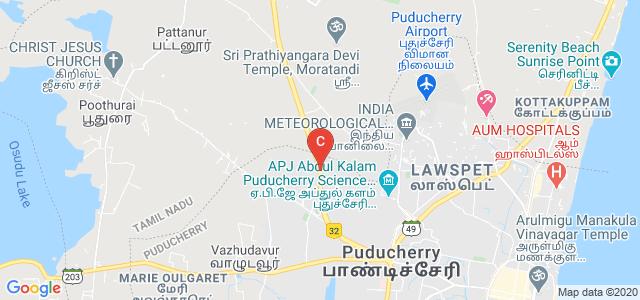 Jawaharlal Institute of Postgraduate Medical Education and Research, Jipmer Campus Road, Gorimedu, Dhanvantari Nagar, Puducherry, India