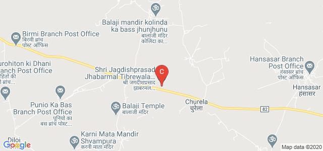 Shri Jagdishprasad Jhabarmal Tibrewala University, Churu Road, Vidyanagari, Churela, Rajasthan, India