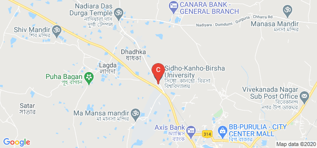 Sidho-Kanho-Birsha University, Purulia, West Bengal, India