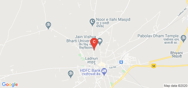 Jain Vishva Bharti University, Ladnun, Rajasthan, India