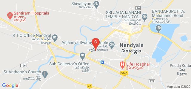 Rajeev Gandhi Memorial College of Engineering and Technology, Nandyal, Kurnool, Andhra Pradesh, India