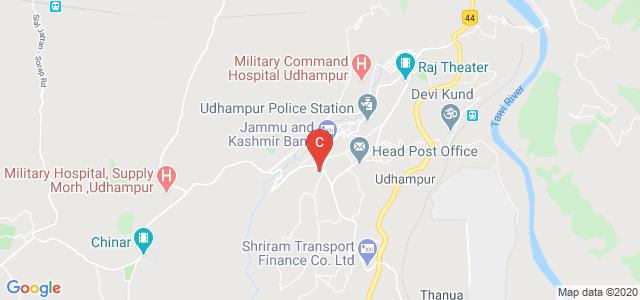 Govt. College for Women, Udhampur, Chabutra Bazaar, Dina Nagar, Udhampur