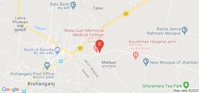 Mata Gujri University, Purab Palli Road, Kishanganj, Bihar, India