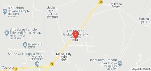 Om Sterling Global University, Hisar, Haryana, India