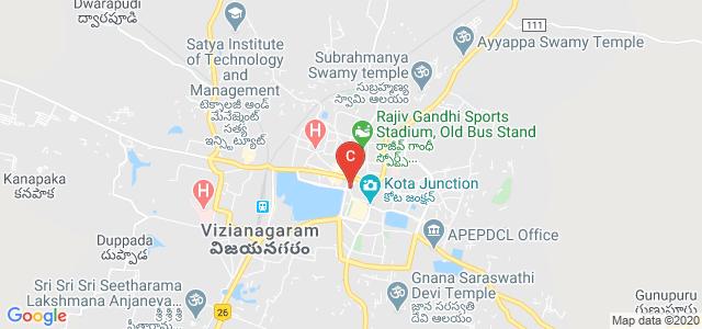 MAHARAJA COLLEGE, Tupakula Street, Kaspa West, Vizianagaram, Andhra Pradesh, India