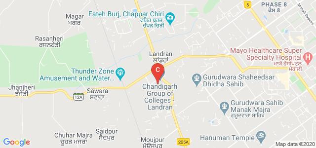 Chandigarh College of Hospitality | Chandigarh | Punjab | Mohali | North India | Landran, Sector 112, Sahibzada Ajit Singh Nagar, Punjab, India