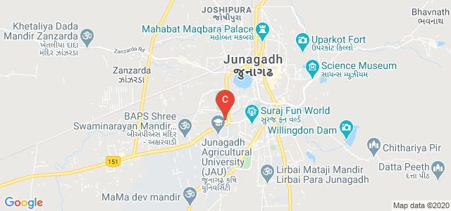 Shree M M Ghodasara Mahila Arts & Commerce College , Junagadh, Moti Baug, Kalva Chok, Junagadh, Gujarat, India