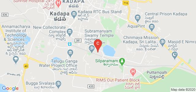 SPIRTS College of MCA & MBA, Kadapa, Andhra Pradesh, India