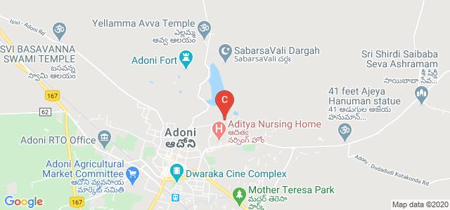 Dr.Jyothirmayi Degree College, Gym Road, Shair Khan Colony, Adoni, Andhra Pradesh, India