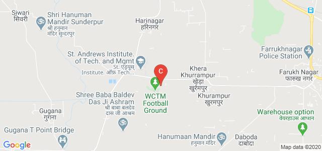 Gurugram Global College of Pharmacy, Haily Mandi Road, Farukh Nagar, Gurgaon, Haryana, India
