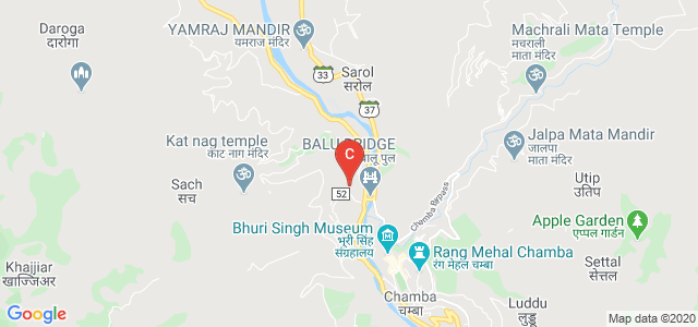 Government College Chamba, Sultanpur, Chamba, Himachal Pradesh, India