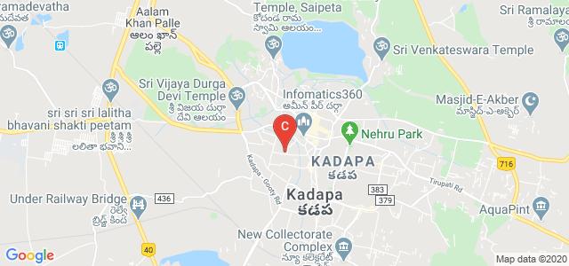 Ravindra Nagar, Kadapa, Andhra Pradesh, India