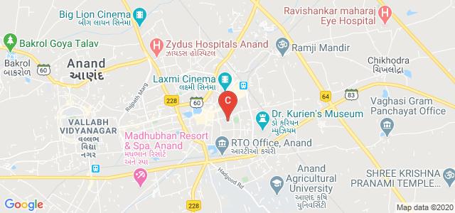 Shri A. N. Patel PG Institute, Sardar Gunj Road, Gamdi Vad, Sardar Ganj, Anand, Gujarat, India