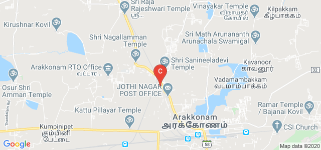 Sri Krishna Polytechnic College, State Highway 58, Arakkonam, Tamil Nadu, India