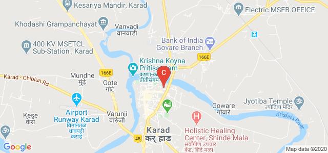 Mahila College Karad, near Shikshan Mandal karad Office, Mangalwar Peth Karad, Karad, Maharashtra, India