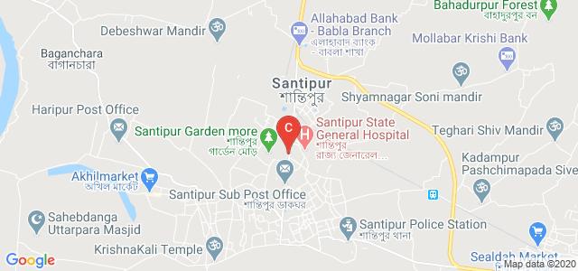 Santipur College, Nadia, West Bengal, India
