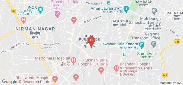 Dr. Ambedkar P.G. College, 60 Feet Road, C-Block, Surya Nagar, Mahesh Nagar, Jaipur, Rajasthan, India