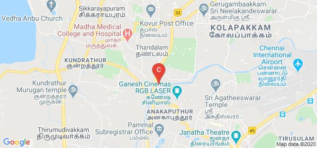 Madha Arts and Science College, Erandamkattalai, Sadanandapuram, Tharapakkam, Chennai, Tamil Nadu, India