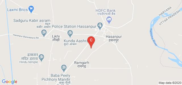 Maa Omwati Degree College, Hodal Hasanpur Road, Hasanpur, Palwal, Haryana, India