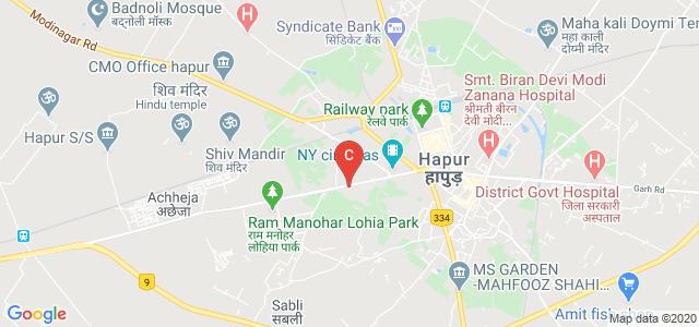 S.S.V P.G College, Hapur, Hapur Road, Rafiq Nagar, Hapur, Uttar Pradesh, India