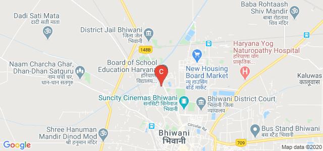 Rajiv Gandhi Govt. College For Women, D.C.Colony, Birla Colony, Bhiwani, Haryana, India