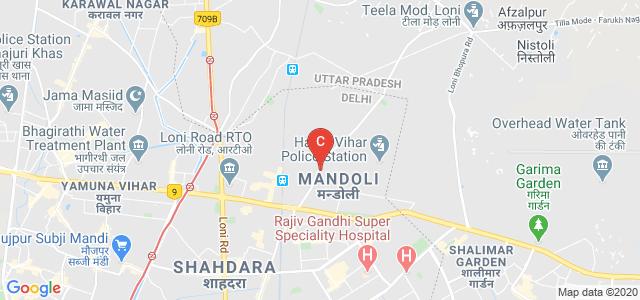 Royal Educational Institute, Ashok Nagar Extension, Village Mandoli, Durgapuri, Delhi, India