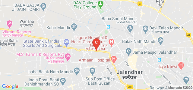 Government Arts & Sports College, Mithu Basti, Adarsh Nagar, Jalandhar, Punjab, India