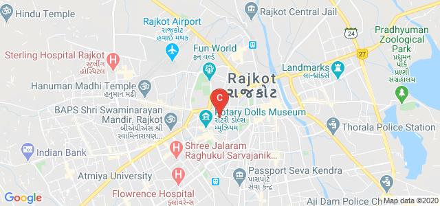 Shri Sadgurudev Shri Ranchhoddasji Bapu Mahila Home Science College, Rail Nagar, Parikshit Nagar, Sadar, Rajkot, Gujarat, India
